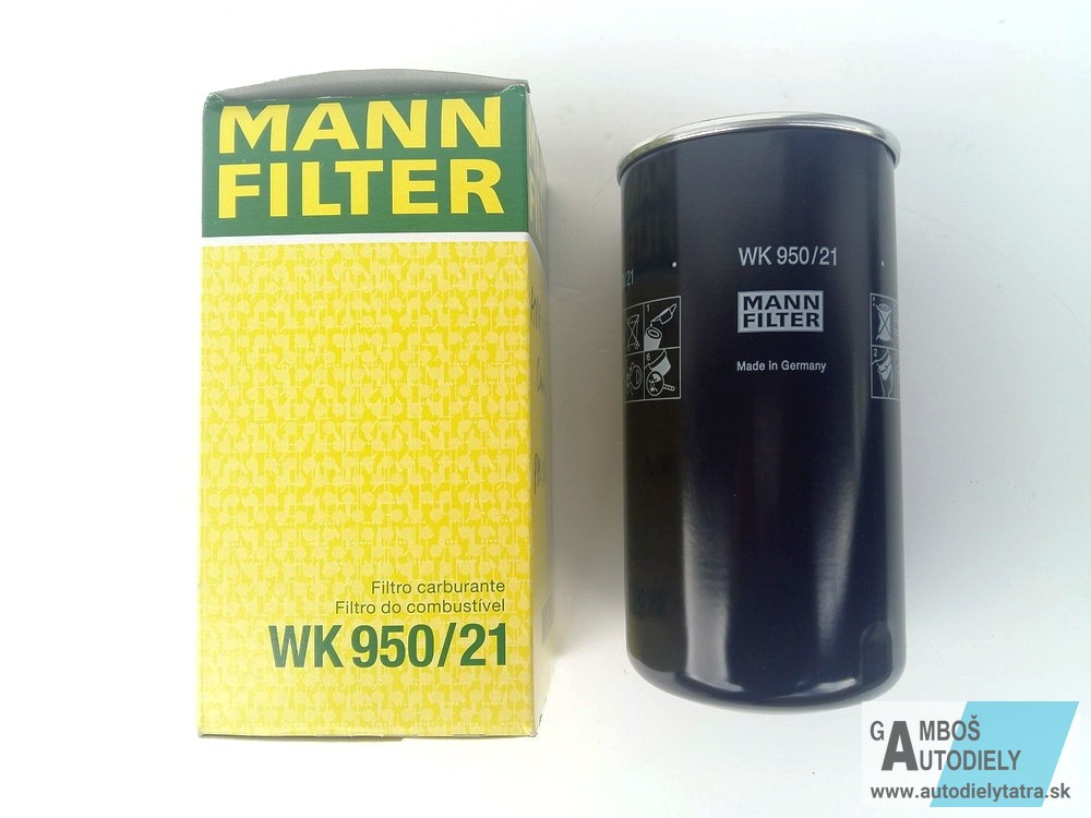 FILTRO COMBUSTIBILE NUOVO MANN-FILTER WP 962//3 X
