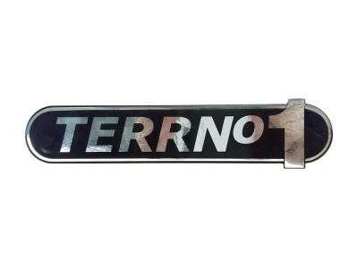 Nápis TERRNo1 čierny - samolepka