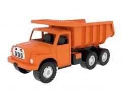 Detská plastová hračka Tatra T148 na piesok oranžová