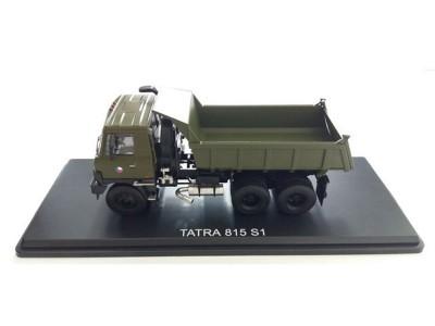 Automodel Tatra T815 6x6, mierka: 1:43, výrobca: FOX toys, farba: vojenská