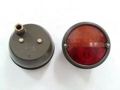 Svetlo zadné kruhové 2-dielne pravé oranžovo-červené bez osvetlenia ŠPZ