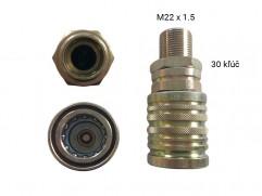 Rýchlospojka hydraulická typ 2 - samica M22x1,5