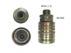 Rýchlospojka hydraulická - samica M18x1,5