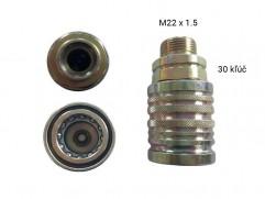 Rýchlospojka hydraulická - samica M22x1,5