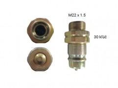 Rýchlospojka hydraulická - samec M22x1,5