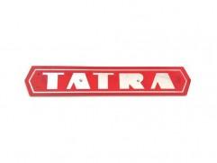 Nápis TATRA plast CN