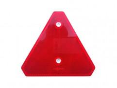 Odrazka červená - trojuholník