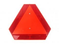 Trojuholník plast. na poľnohospodárske stroje s držiakom