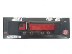 Automodel Tatra TERRNo1 T815-230S84 8x8.2 jednostranný sklápač, KADEN, mierka: 1:43, farba: červená
