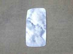Sklo zrkadla Z-430 CZ (výška: 334mm, šírka: 168mm)