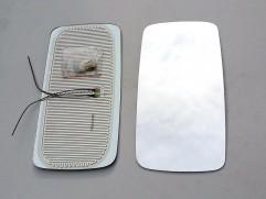 Sklo zrkadla Z-700 vyhrievané CZ (výška: 396mm, šírka: 198mm)