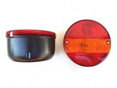 Zadné svetlo kruhové 3-dielne pravé bez osvetlenia ŠPZ PL