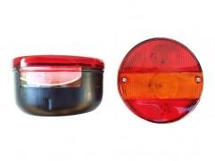 Zadné svetlo kruhové 3-dielne ľavé s osvetlením ŠPZ PL