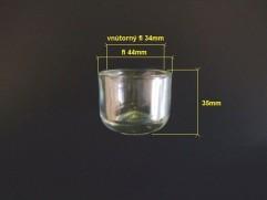 Sklíčko čističa paliva PV3S