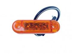 Pozičné svetlo 3 LED 65x19mm oranžové SERTPLAS