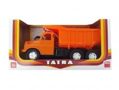 Children's plastic toy Tatra T148 orange 30cm
