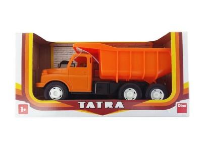 Detská plastová hračka Tatra T148 oranžová 30cm