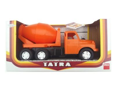 Detská plastová hračka Tatra T148 domiešavač oranžová 30cm