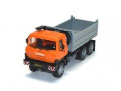 Automodel Tatra T815 6x6 S3, mierka: 1:87, výrobca: IGRA, farba: oranžová / sivá