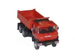 Automodel Tatra T815 6x6 S1, mierka: 1:87, výrobca: IGRA, farba: červená