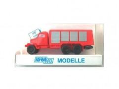 Car model Praga V3S fire cistern, color: scale: 1:87, IGRA