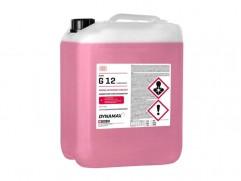 Nemrznúca zmes do chladiča G12 červená 10L DYNAMAX