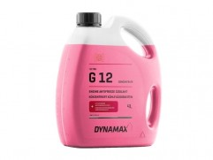 Nemrznúca zmes do chladiča G12 červená 4L DYNAMAX