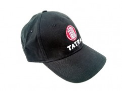 Šiltovka čierna s bielym nápisom a logom TATRA