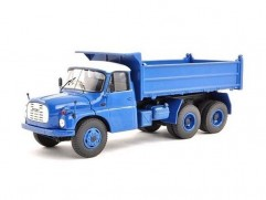 Car model Tatra T148 S3 6x6 tipper, limited edition, scale: 1:43, FOX toys, color: blue