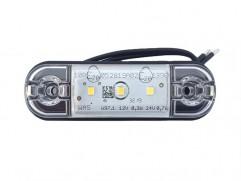 Pozičné svetlo 3 LED 83,8x24,2mm biele WAS W97.1