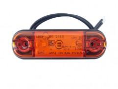 Pozičné svetlo 3 LED 83,8x24,2mm oranžové WAS W97.1