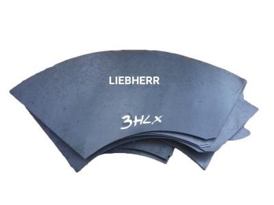 Špirálové plechy bubna zadné domiešavač LIEBHERR HLX
