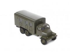 Car model Praga V3S box, scale: 1:87, IGRA, color: army