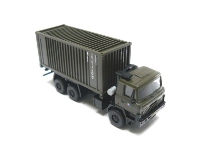 Automodel Tatra T815 vojenský kontajner, mierka: 1:87, IGRA