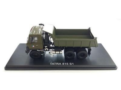 Automodel Tatra T815 6x6, mierka: 1:43, FOX toys, farba: vojenská