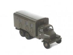 Car model Praga V3S box ACR, scale: 1:87, IGRA, color: army