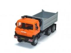 Automodel Tatra T815 6x6 S3, mierka: 1:87, IGRA, farba: oranžová / sivá