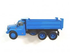 Car model Tatra T148 S3 tipper, scale: 1:43, ATLAS, color: blue
