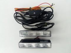 Svietenie denné LED HID 12/24V 540 sada