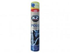 Sprej K2 POLO COCKPIT na palubovku 750ml LEMON (citrónová vôňa)