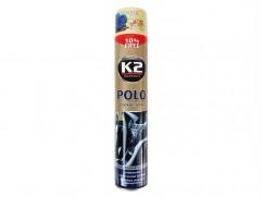 Sprej K2 POLO COCKPIT na palubovku 750ml VANILLA (vanilková vôňa)