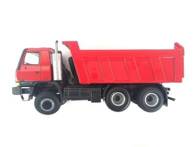 Automodel Tatra TERRNo1 T815 6x6 jednostranný sklápač, mierka: 1:43, farba: červená
