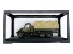 Car model Praga V3S flatbed with sail, scale: 1:43, Abrex, color: army