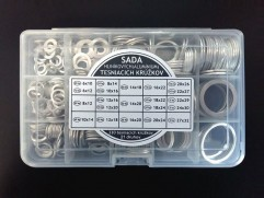 Set of gaskets Al (330pc, 28 types, 6x10 until 27x32)