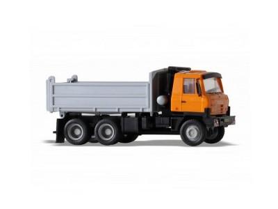 Automodel Tatra T815 6x6 sklápač, mierka: 1:87, IGRA, farba: oranžovo-šedá
