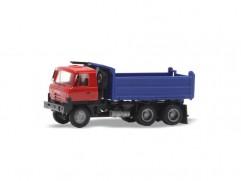 Automodel Tatra T815 6x6 sklápač, mierka: 1:87, IGRA, farba: červeno-modrá