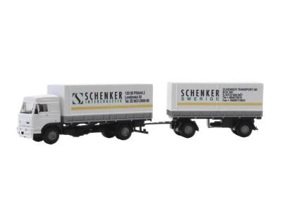 Automodel LIAZ MAXI Schenker Logistik, mierka: 1:87, IGRA