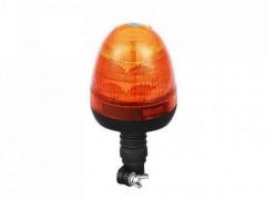 Maják 12/24V R65, R10 LED oranžový na stopke