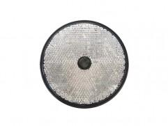 Odrazka biela kruhová fí 80mm (priemer reflexnej plochy)
